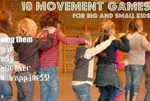 Children in movement! / Here you find playful movement activities for children of different age ranges and articles by movement experts.