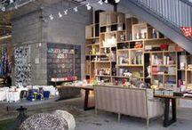 NEW YORK / Restaurants + shops + hotels