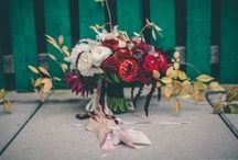 Wedding: Bouquets / The bunch of blooms that sets the tone.