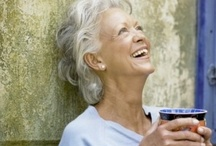 Gracefully Aging . . .  / With mirth and laughter let old wrinkles come. ~ William Shakespeare  / by Karen Powell