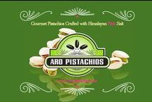 California Gourmet Pistachios / Gourmet ARO Pistachios are vegan, non-gmo, gluten-free, and Kosher certified. Discover, surprise and delight! www.aronuts.com / by ARO Pistachios