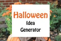 Halloween / Design ideas for your ribbon printer for this spooky and fun holiday.