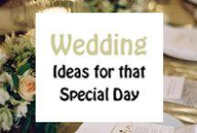 Weddings / Design inspiration for using your ribbon printer for weddings.