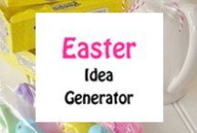 Easter / Design ideas for using your ribbon printer during the colorful Easter holiday.