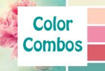 Color Combos / Inspiration for eye catching and emotion provoking color combinations