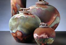 Pottery : Raku + Saggar + Pit Fired / ::: beauty of one of a kind ::: / by Kris Marie