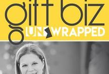 Gift Biz Unwrapped / Learn new ways to gain traction and grow your business. Whether you have a main street shop, sell online or are just beginning, you will hear about actionable strategies, gain insight or discover tools that you can use right away.