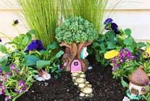 Fairies / Fairy gardens, parties and illustrations