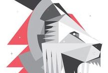 Graphic Illustration / Graphic design. Vector illustration.  / by Neil Clark
