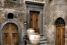 Entrances-You are Welcome :-) / The entrance is first impression before entering someone's house. Here are many impressions as you see, enjoy ... :-) / by Eliyah Lugashi