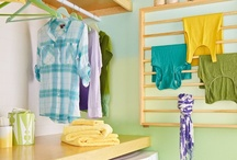 Sort, Wash, Fold, Iron... / Laundry room facelift for under $500.00!