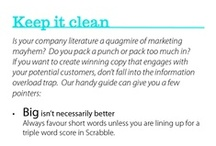 Top Tips for Marketing / Top Tips for effective marketing, brand awareness and printing!