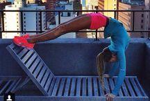 t h i n s p i r a t i o n / Get fit.  / by Kristen Jeruzal