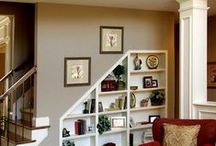 Decorating...Mantels, Tables, Shelves & Stairs