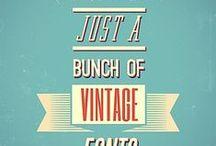 Fonts - Vintage & Famous