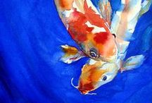 Koi (and other assorted fish) / by StJohn Miall