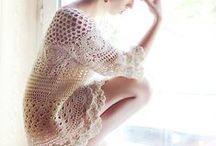 Crochet clothes / crochet dresses, other clothes.