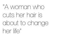 hair / I love short hair / by angela!
