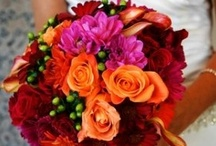 Fall Wedding Bouquets / Vibrant colors and romantic bouquets amidst fall leaves are the perfect setting for a beautiful wedding. Be inspired by these beautiful fall wedding bouquets.
