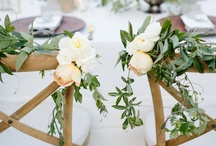 Rustic Romance Wedding / lavender, neutrals and greenery
