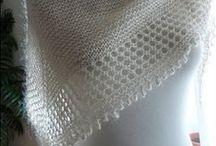 Shawl Сrochet or Knitted / shawl