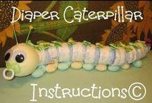 Diaper Cakes ETC.... / by Frances Halpin