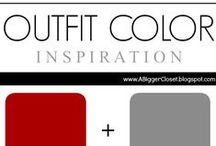:: Red & Grey :: Outfit Ideas / Red and grey outfit ideas for fall and winter and spring and summer.