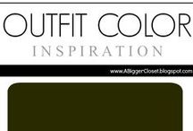 :: Olive Green :: Outfit Ideas / Outfit ideas in all shades of olive green for fall/winter and spring/summer.