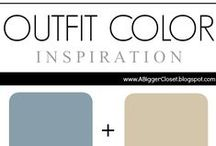 :: Blue & Beige :: Outfit Ideas / Blue and Beige (all shades) outfit ideas for fall and winter and spring and summer.