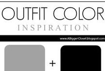 :: Grey & Black ::  Outfit Ideas / Grey and black outfit ideas for fall and winter and spring and summer.
