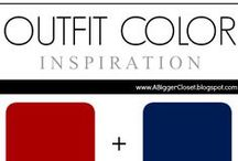 :: Red & Blue :: Outfit Ideas / Outfit ideas in all red and blue for fall/winter and spring/summer.