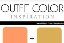 :: Coral & Beige :: Outfit Ideas / Outfit ideas for fall and winter and spring and summer in all shades of coral and beige.