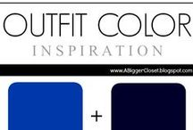 :: Cobalt & Navy :: Outfit Ideas / Cobalt and navy blue outfit ideas for fall and winter and spring and summer.