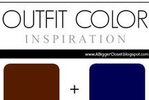 :: Brown & Blue :: Outfit Ideas / Outfit ideas in all shades of brown and blue for fall/winter and spring/summer.