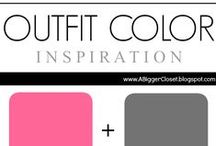 :: Pink & Grey :: Outfit Ideas / Pink and grey (all shades) outfit inspiration for fall and winter and spring and summer.