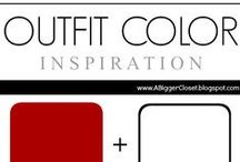 :: Red & White :: Outfit Ideas / Red and white (all shades) outfit ideas for fall and winter and spring and summer.