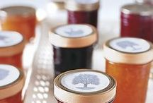 "Preserving | Jars & Jam / ""Jam on a winter took away the blue devils. It was like tasting summer. ""  ― Sandra Dallas"