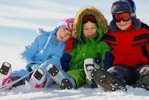 Take the kids to the snow / For families that love to ski or snowboard, maybe just build a snowman or throw a snowball or two