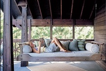 Porch ideas / by Kathy Armstrong