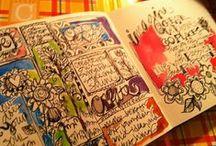 Create: Art Journals & Smash books / by Kat
