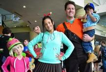 Wreck It Ralph family cosplay / Our Wreck It Ralph cosplay for MegaCon 2014! We looked pretty freaking awesome!