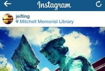 Club Mitchell & Mitchell Memorail Library on Instagram / Even before the Library had an official Instagram account, people were tagging themselves at #ClubMitchell. We love that our patrons love the Library!