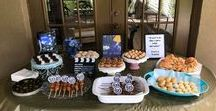 La La Land themed party / Every summer my daughter and I have a themed summer tea party. This year was La La Land! Sweet raspberry tea and blackberry lemonade, chicken on a stick, sweet treats and more! We also played the La La Land soundtrack!