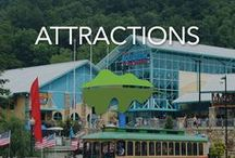Smoky Mountain Attractions / Here are some of our favorite attractions in Sevierville, Pigeon Forge and Gatlinburg! For more of our faves, check out our blog at www.visitmysmokies.com/blog #visitmysmokies