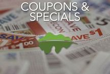 Coupons & Specials / Find discounts, promos, coupons and specials for Pigeon Forge, Gatlinburg and Sevierville lodging, attractions and dining. To view all the up to date coupons for the Smokies, visit our website at: http://www.visitmysmokies.com/coupons/