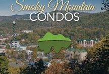 Smoky Mountain Condos / Choose from many 2 and 3 bedroom condo vacation rentals featuring fully-equipped kitchens, high-speed internet, swimming pools, hot tubs, exercise rooms, linen service and easy parking. Book your Smoky Mountain condos today!