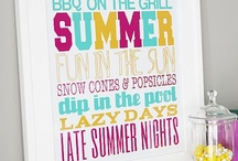 #SummerLove / Summer time decor and ideas / by Melissa Bryant