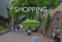 Shopping in Gatlinburg, Pigeon Forge & Sevierville / Are you looking for a great area to shop? Look no further! We have it all here in the Smokies.