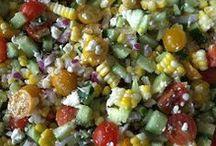 appetizers/salads / by Donna Surma Malendowski
