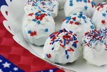 Holiday: July 4th / Independence Day Ideas. Recipes, decorations, crafts, outfits.